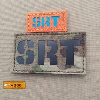 SRT Special Reaction Team Laser Cut Velcro© Patch