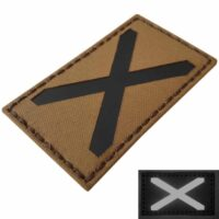 IR Coyote Alabama Scotland flag velcro patch