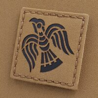 Tan IR Raven Penny Viking Norse 2x2 Icelandic Heathen Infrared Coyote IFF Tactical Morale VELCRO (C) brand Patch