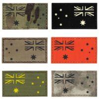 "Australia Flag 2""x3.5"" Australian Army Tactical Morale Laser Cut Velcro Patch"