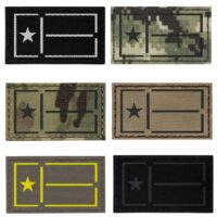 Texas state Lone Star flag tactical army military laser cut velcro patch