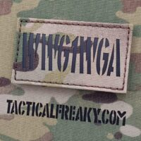 IR Multicam WWG1WGA 2x3.5 Where We Go One We Go All OCP Infrared Tactical Morale VELCRO (C) brand Patch