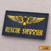 USCG Coast Guard Rescue Swimmer Wings Laser Cut Velcro© Patch