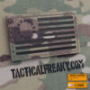 IR Multicam Betsy Ross USA American Flag 2x3.5 Laser Cut IFF Tactical Morale VELCRO(C) brand Patch