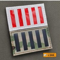 Stamp Act Flag Sons of Liberty 2x3.5 American Independence Revolution Morale 1776 Tactical Laser Cut Velcro© Patch