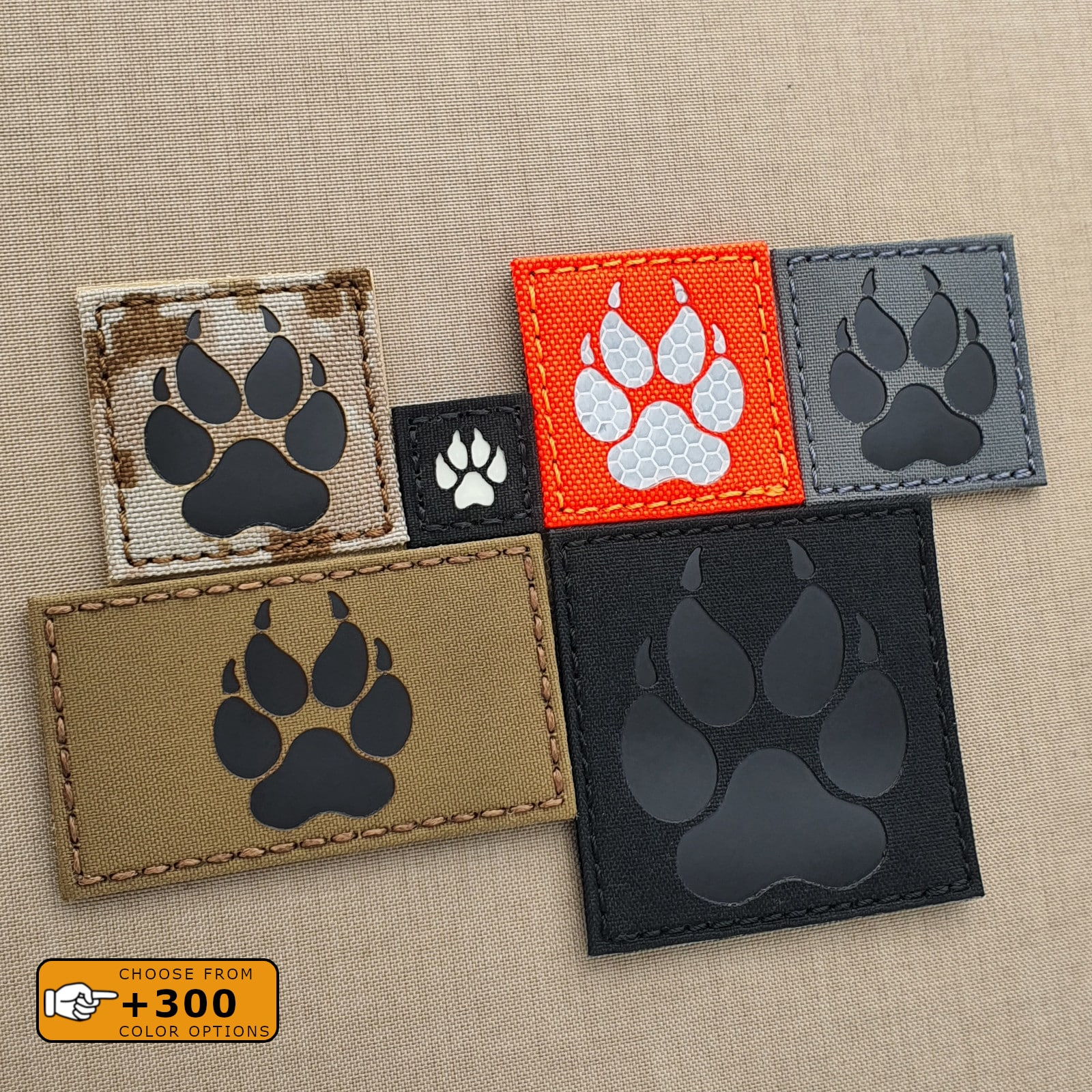 Micro IR Patch 1x1 Multciam OCP k9 Dog Paw Handler Infared Cat Eyes Morale Army Tactical Morale