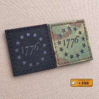 American Revolutionary War 1776 Declaration Independence 2A USA Militia 3% Laser Cut 2A Velcro© Brand Patch