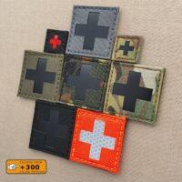 Red Cross IFAK MED Medical EMS EMT Tactical Morale Laser Cut Velcro© Patch
