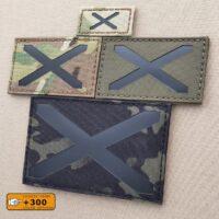 Alabama Flag Scotland Laser Cut IFF Tactical Morale Velcro© Brand Patch