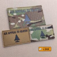 Pine Tree Appeal To Haven Flag American Revolution US Tactical Morale Velcro© Brand Patch