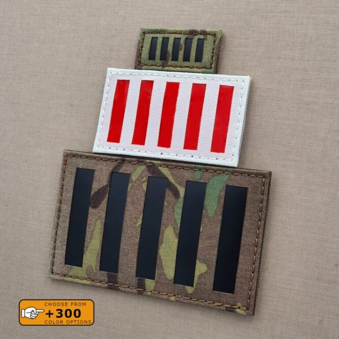 Stamp Act Flag Sons of Liberty American Independence Revolution Morale 1776 Tactical Laser Cut Velcro© Patch