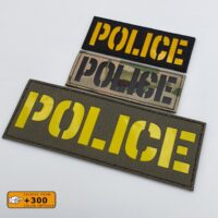 Police Tactical Morale Sheriff Military SWAT Cut Velcro© Brand Patch