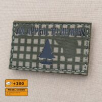 Desert Night Flag US American Revolution The Pine Tree Appeal To Heaven Laser Cut Velcro© Brand Patch