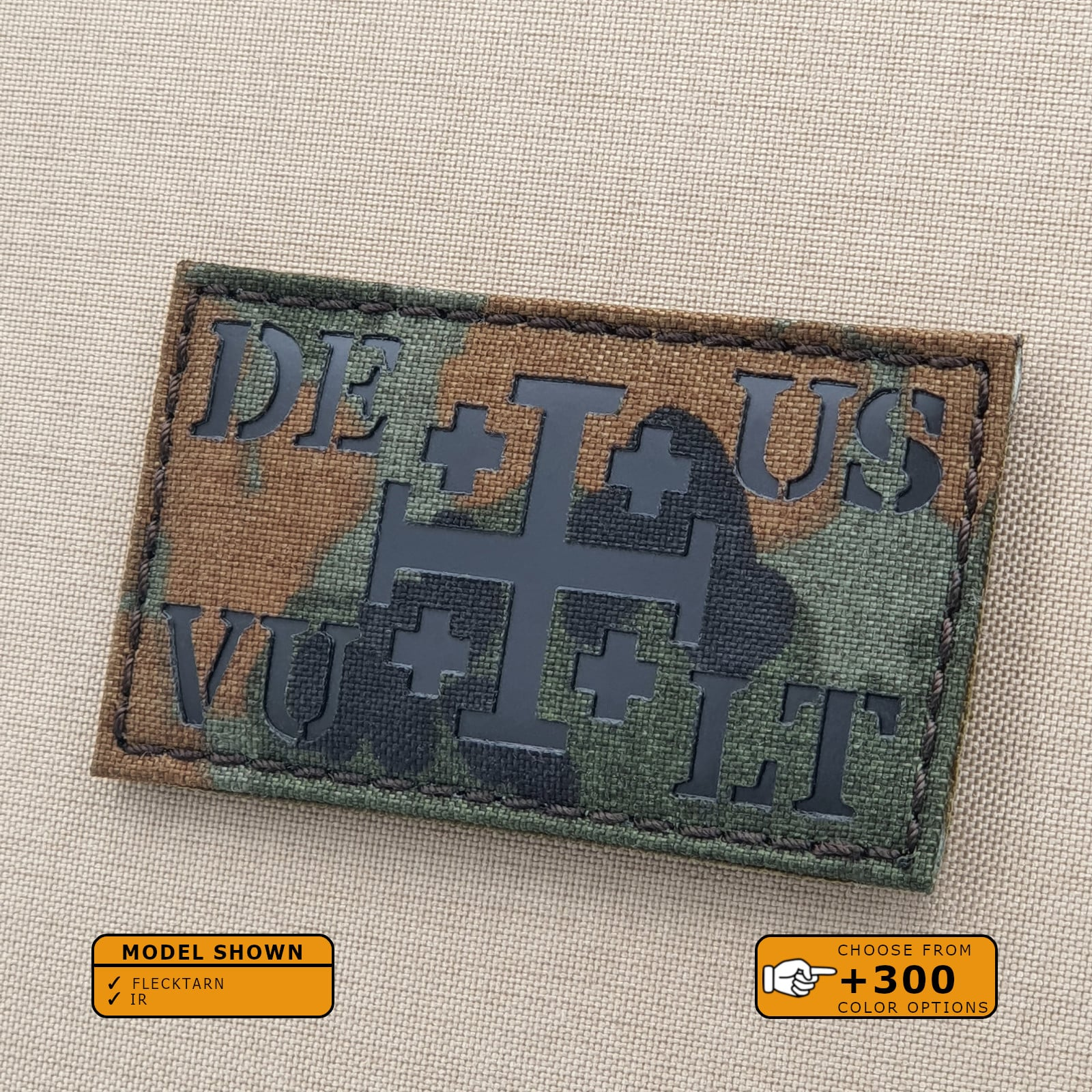 Time for Another Crusade Brod/é Airsoft Morale Patch