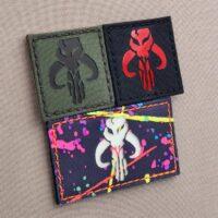 Star Wars Mythosaur Boba Fett Mandalorian Laser Cut Velcro© Brand Patch