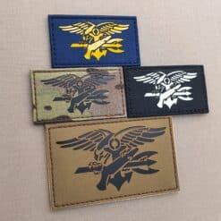 Special Warfare Insignia Budweiser SEAL Trident US Navy SEALs BUD/S DEVGRU SQT Velcro© Brand Patch