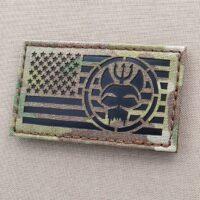 America Flag US Navy SEALs Bravo SEAL Team 6 ST6 Movie TV Series Show DEVGRU Velcro© Brand Patch