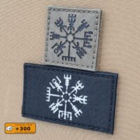 Vegvisir Viking Norse Heathen Tactical Morale Velcro© Brand Patch