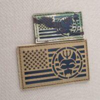US Navy SEALs Bravo SEAL Team 6 ST6 Movie TV America Flag Series Show DEVGRU Velcro© Brand Patch