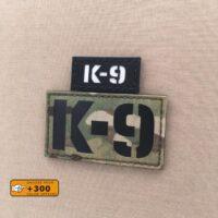 K9 Dog War Law Enforcement Army Handler K-9 Morale TacticalLaser Cut Velcro© Brand Panel Patch