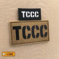 TCCC Tactical Combat Casualty Care TC3 MEDEVAC CASEVAC Dustoff Velcro© Brand Patch