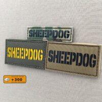 Sheepdog Morale Tactical Laser Cut Velcro© Brand Patch