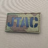 Multicam IR JTAC Joint Terminal Attack Controller Air Support FAC Laser Cut Velcro© Brand Patch