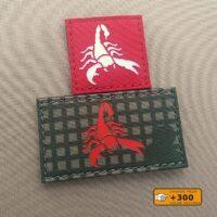 Scorpion Tactical Laser Cut Morale Velcro© Brand Patch