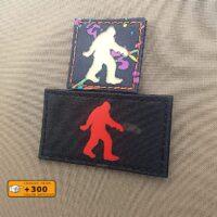 Bigfoot Sasquatch Laser Cut Morale Tactical Velcro© Brand Patch