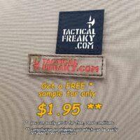 free lasercut velcro sample patch